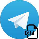Gif в Телеграмме