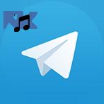 Музыка из ВК в Телеграмм