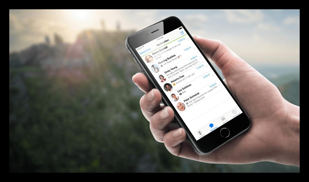 Telegram на iPhone