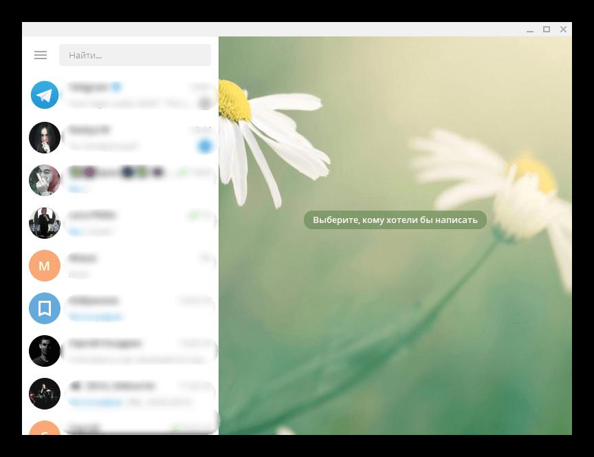 Вид Telegram Portable