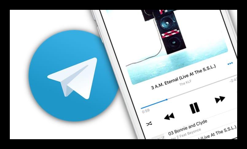 Музыка для Telegram
