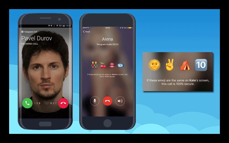 Звонки в Telegram
